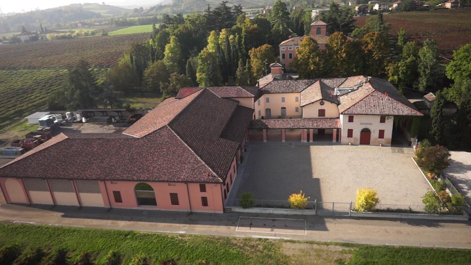 Drone in azione sulle colline modenesi